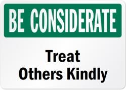 Be-Considerate-Door-Sign