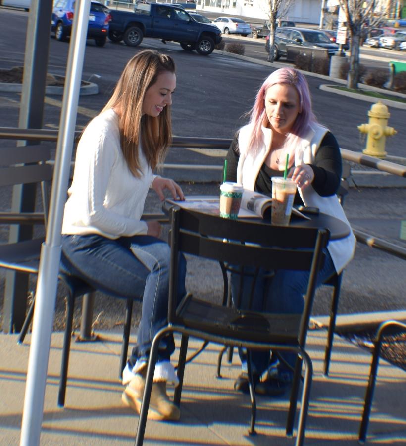 Starbucks Chit chat